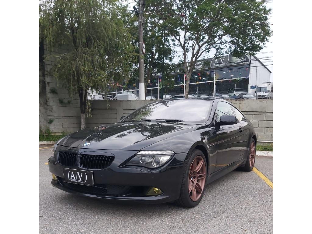 BMW 650I 4.8 COUPE V8 32V GASOLINA 2P AUTOMATICO