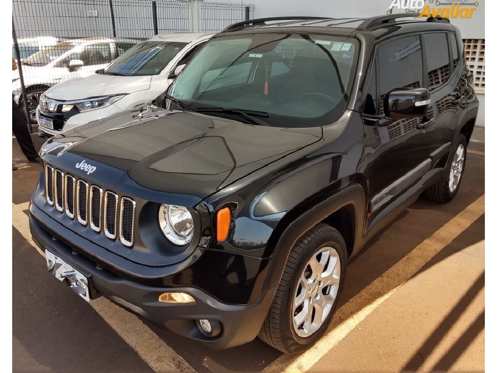 JEEP RENEGADE 2.0 16V TURBO DIESEL LONGITUDE 4P 4X4 AUTOMATICO