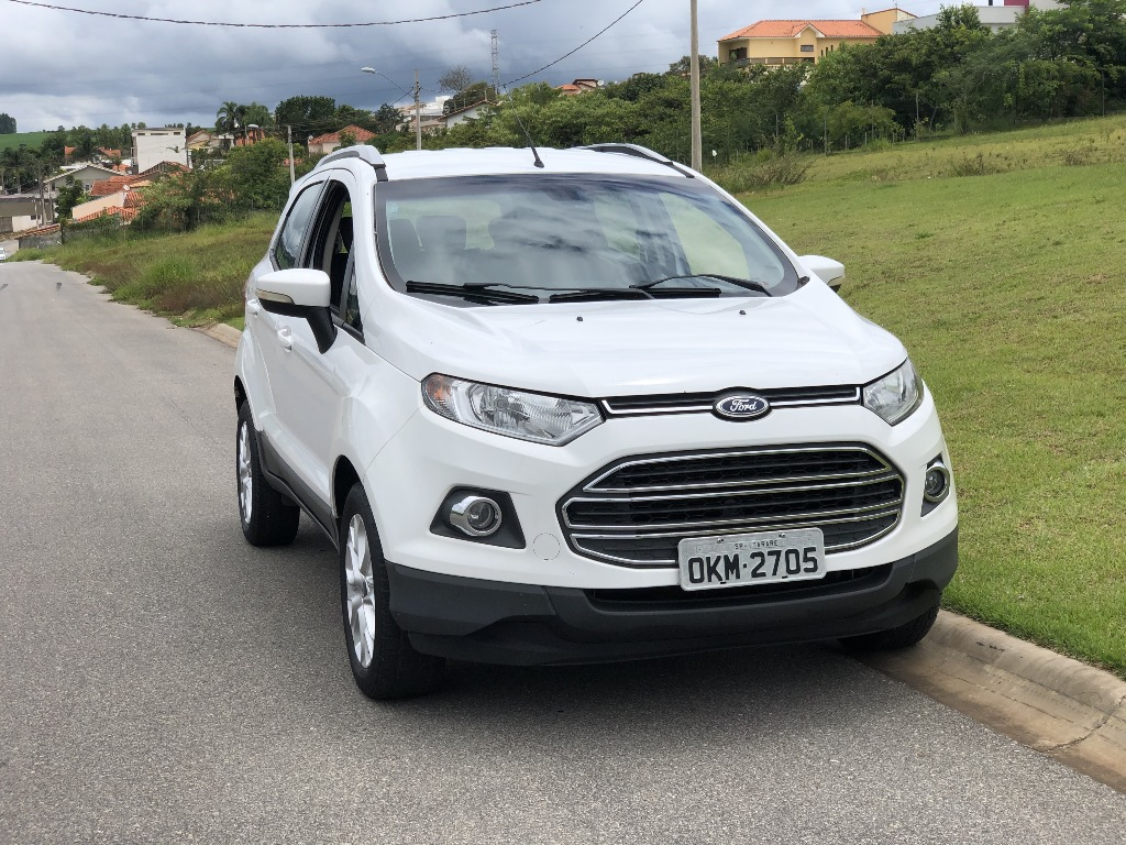 FORD ECOSPORT - 2.0 TITANIUM 16V FLEX 4P MANUAL